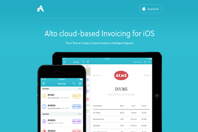 No More Rush To Get Back To The Computer: Invoice With Alto