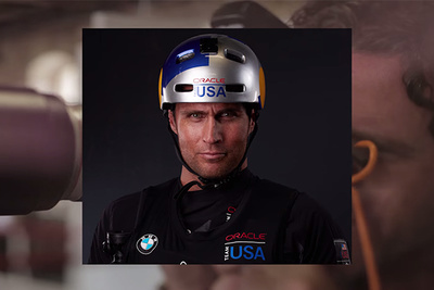 Peter Hurley Returns to His Roots With Oracle Team USA Sailing Portraits