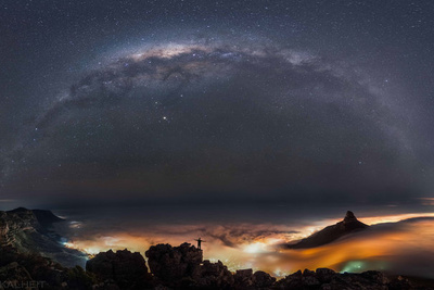Astrophotographer Exposes Cape Town Through New Images