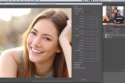 Contentious Retouching Just Got Easier: How to Use the Face-Aware Liquify Tool