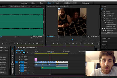 Learning Adobe Premiere Pro CC Doesn't Have to Be an Affair, Follow Along With This Tutorial [NSFW]