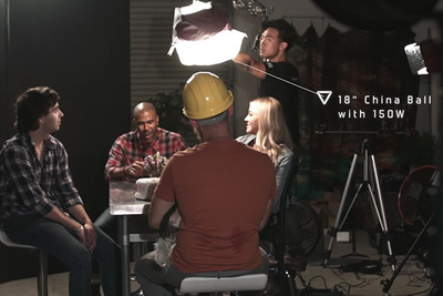 Gear and Tips for Lighting a Table Scene or Roundtable Discussion