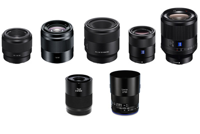 A Guide To Sony's Ridiculous 50mm Lens Selection