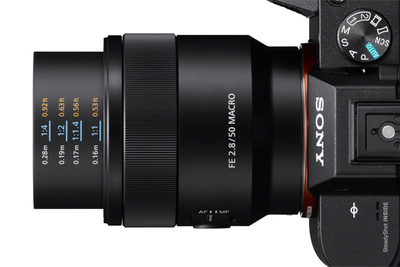 Sony Introduces the FE 50mm f/2.8 Macro Lens, Will Cost $500