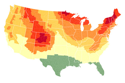 Plan For 2016 Peak Fall Foliage In The U S With This Interactive Map