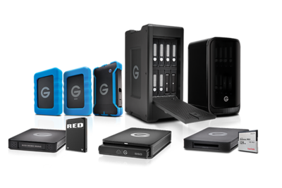 G-Technology Expands G-RACK and ev Series Product Lines with Increased Capacity, CFAST 2.0, and Atomos Integration