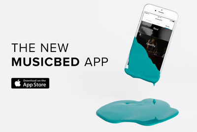 Musicbed Completely Revamps iPhone App With a New Design and New Features