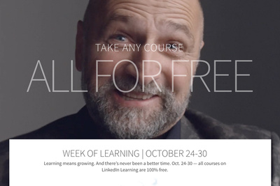 Take Advantage of Free Courses During LinkedIn's 'Week of Learning'