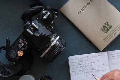 Photomemo: A Simple Tool For Film Photographers to Log Their Exposures
