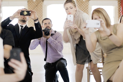 Hilarious Short Film Makes a Strong Case for Unplugged Weddings