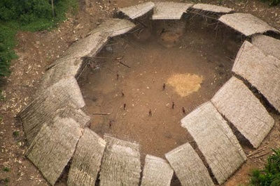 Incredible New Aerial Photos Reveal Tribe Living in Isolation in South American Jungle