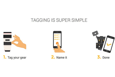 GearEye Promises to Keep Track of All Your Gear with RFID Tags