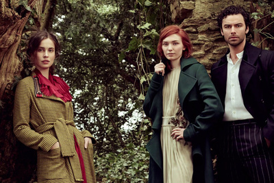 Behind the Scenes: Jason Bell Photographs the Poldark Cast for Vogue UK