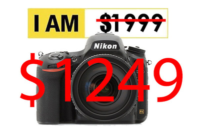 Crazy Deal: Get a Nikon D750 DSLR Camera for $1249