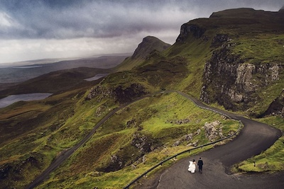 Wedding Photographer Offers Clients Incredible Wedding Adventure Sessions