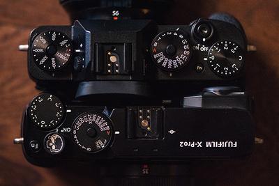 Fujifilm X-Pro2 Versus X-T2