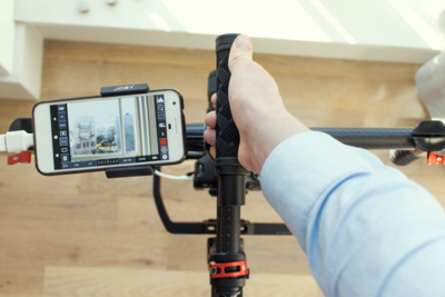 Perfect for Gimbals: Using Your Phone as a Monitor