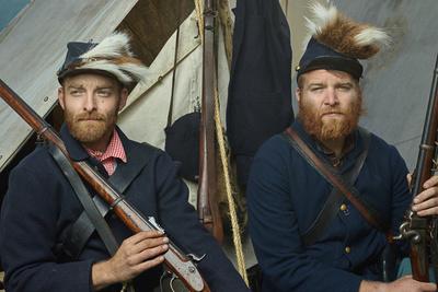 Photographer Recreates Civil War Era Portraits