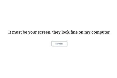 Hilarious Excuses Generator Brings Light to the Excuses We All Make Up as Photographers