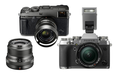 Fujifilm Announces X-Pro2 Graphite Edition Kit and X-T2 Graphite Silver Edition Body