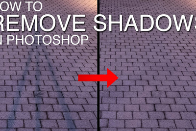 How to Remove a Shadow Using Luminosity Masks