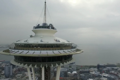 Drone Crashes Into Seattle Space Needle, Pilot Could Face Charges