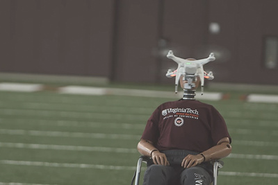 Drone to the Face: Virginia Tech Tests Human/Drone Collisions