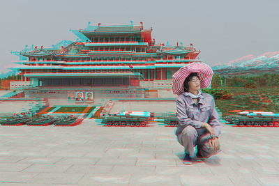 '3DPRK' - Possibly the World's Most Difficult Photo Project