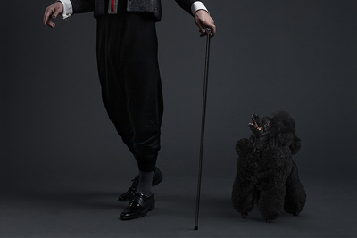 Fashion Portraits Show People and Their Dogs Look Alike
