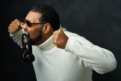 Behind the Scenes: Celebrity Portrait Shoot With Grammy Award-Winner Fatman Scoop