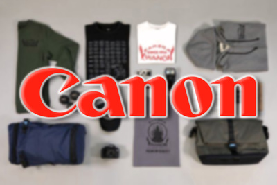 Canon Launches a Range of Branded Clothing and Accessories
