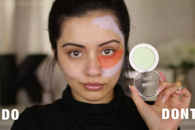 Color Correcting Skin with Makeup