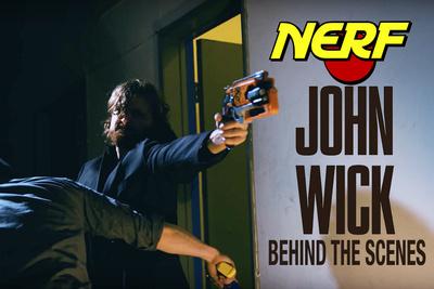 The Men and Methods Behind 'Nerf John Wick'