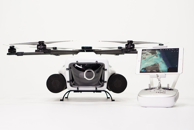 This Drone Uses DJI Cameras and Can Film Underwater