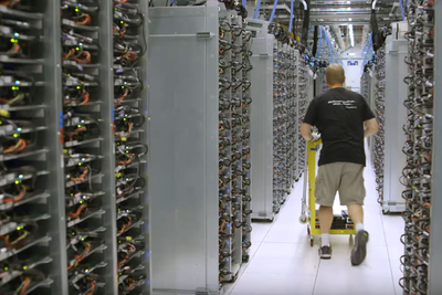 VP of Google's Data Center Operations Takes You Inside Google's Massive Data Center