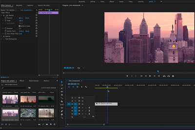 Learn How to Make Five Cinematic Movements Within Adobe Premiere