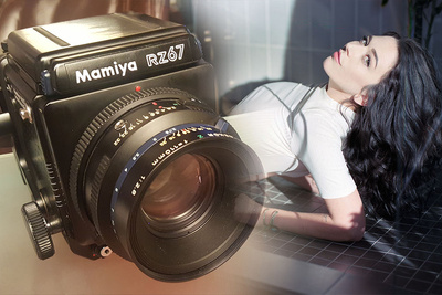 The Best Portrait Camera Ever - The Mamiya RZ67