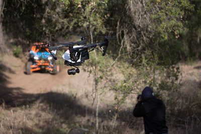Watch a DJI Inspire Drone Get Swatted Out of the Sky During the Filming of This Action-Packed Video