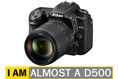 Nikon's New D7500 Shares Much of D500's DNA