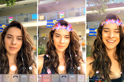 Instagram is One Step Closer to Killing Snapchat with New Face Filters