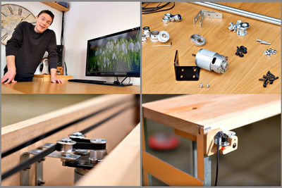 DIY: Build an Affordable Motorized Monitor Lift for Your Desk