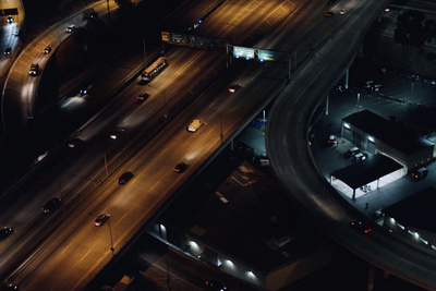 Some Intriguing Drone Movements: 24 Hours in Los Angeles