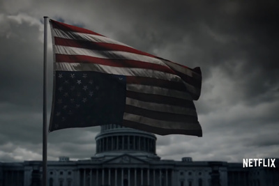 Pete Souza Photographs Netflix 'House of Cards' Promo in Washington, D.C.