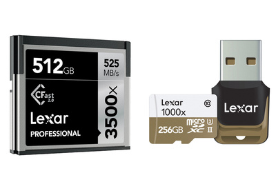 Blazing Fast, High Capacity: Fstoppers Reviews Lexar's Professional Memory Cards