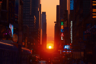 Photo Opportunity of the Week: Manhattanhenge