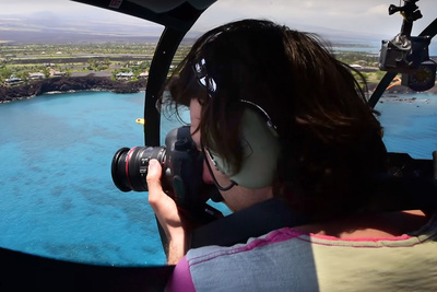 Mike Kelley's BTS Episode 3: How to Photograph From a Helicopter