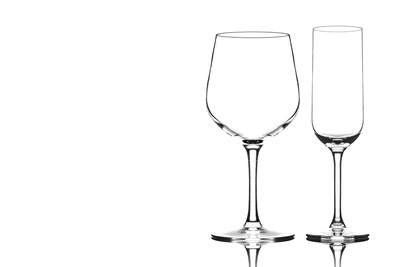 How to Photograph Glassware on White With a Single Light
