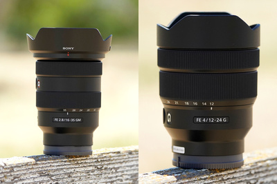 First Look: Sony FE 16-35mm f/2.8 G Master and FE 12-24mm f/4 G Wide-Angle Lenses