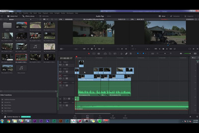 Quick Overview of DaVinci Resolve 14 Audio Editing Capabilities