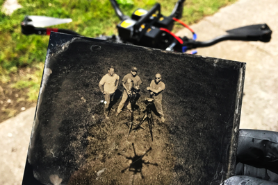 World First: The Tintype Drone